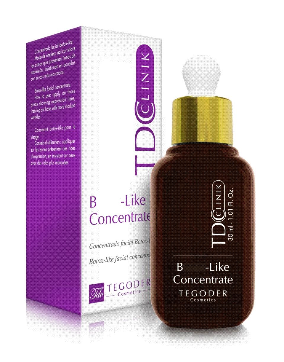 Koncentrat TCD z kwasem hialuronowym liftinguje skórę redukując zmarszczki