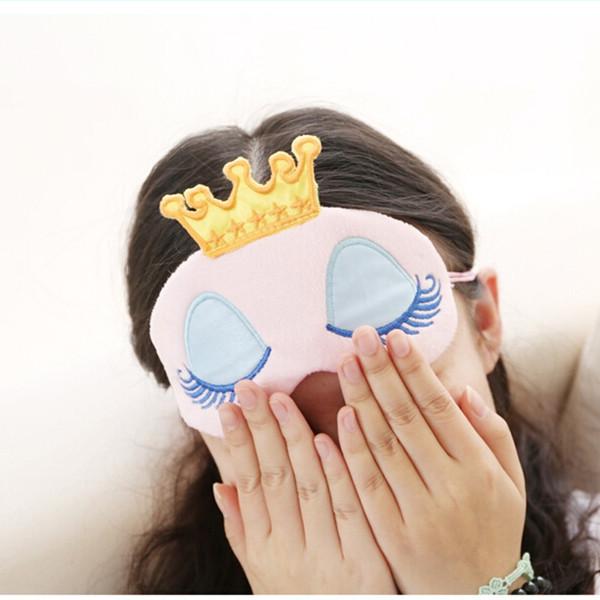 Maska z bawełny efektywnie chroni oczy przed ostrym światłem