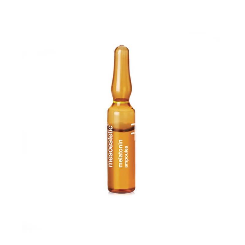 Ampułka posiada silne właściwości regeneracyjne skóry i eliminuje toksyny